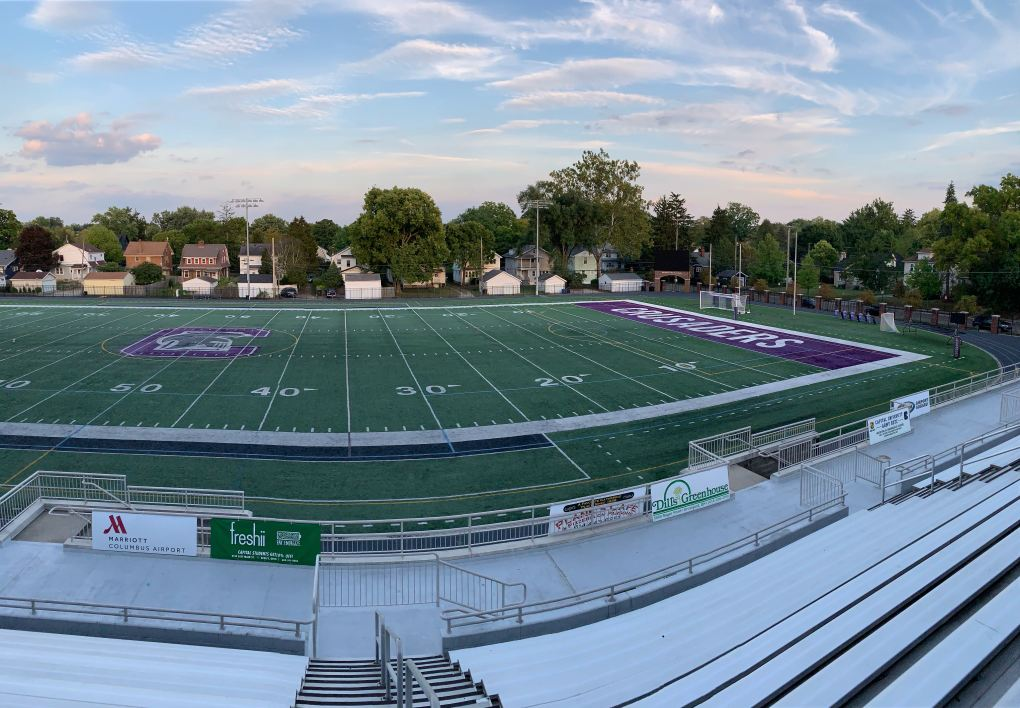 Capital University's Bernlohr Stadium will play host to Eagles' home matches in 2020.