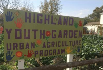 Highland Youth Garden