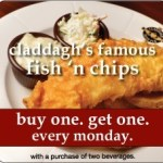 Claddagh Irish Pub BOGO Fish & Chips