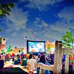 Catch free Movies by Moonlight at Easton Town Center