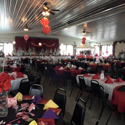 Valentine Party and Airplane Ride