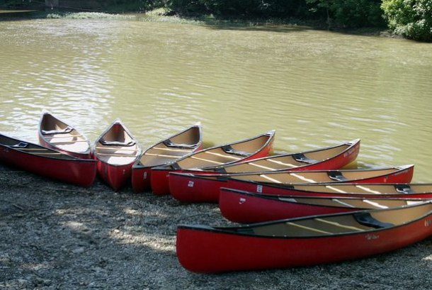 canoeing and kayaking in Columbus
