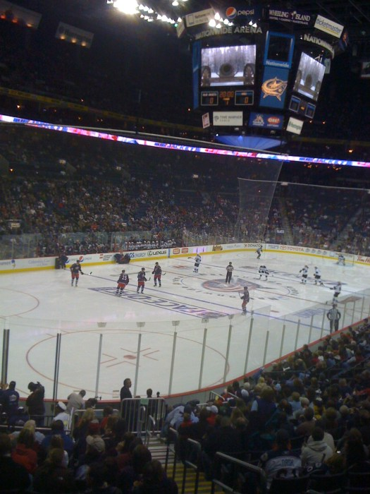 discounted tickets for Columbus Blue Jackets