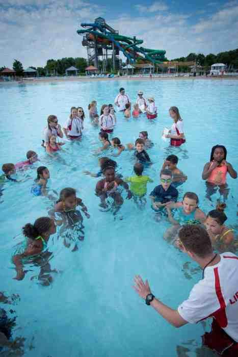 Swimming Lesson Zoombezi Bay