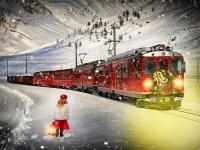 santa train holiday train rides polar express