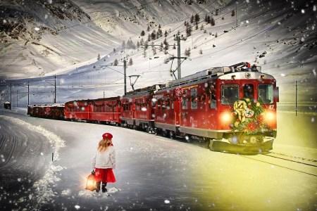 polar express santa train holiday train rides polar express
