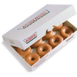 Free Krispy Kreme doughnuts by the dozen (Saturdays and Mondays)