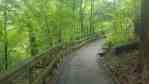 Chestnut Ridge Metro Park trails in Columbus