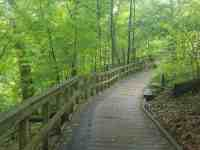 Chestnut Ridge Metro Park trails in Columbus