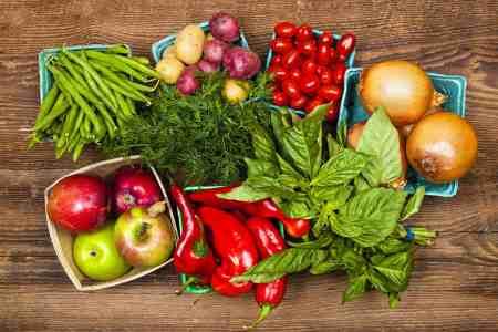 fruit vegetables farmers market produce