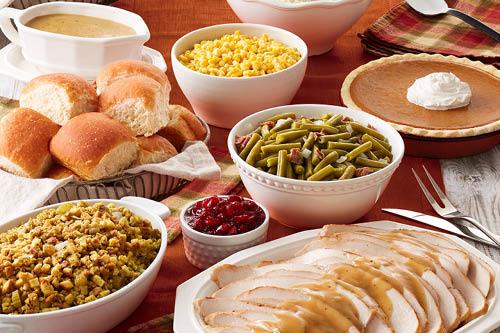 Thanksgiving meal to-go Thanksgiving meal to-go