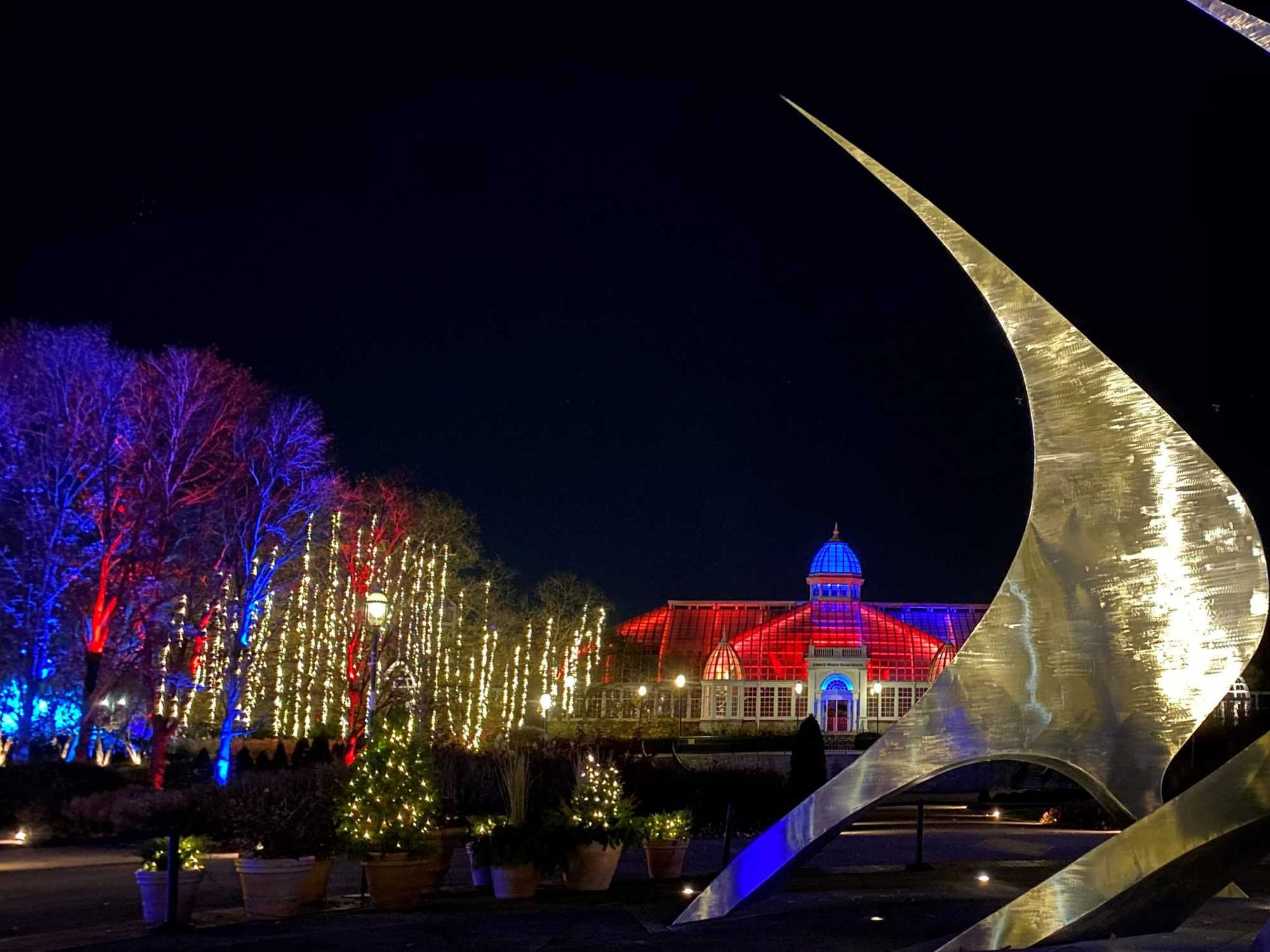 franklin park conservatory aglow and