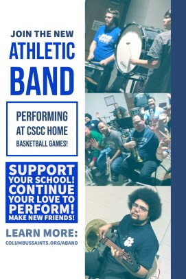 2019 Athletic Band Poster