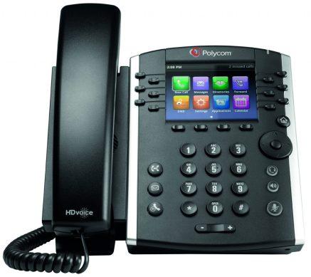 Image of Polycom VVX 410 IP handset for Horizon Hosted Call Centre