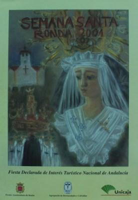 Cartel de la Semana Santa de Ronda de 2001.