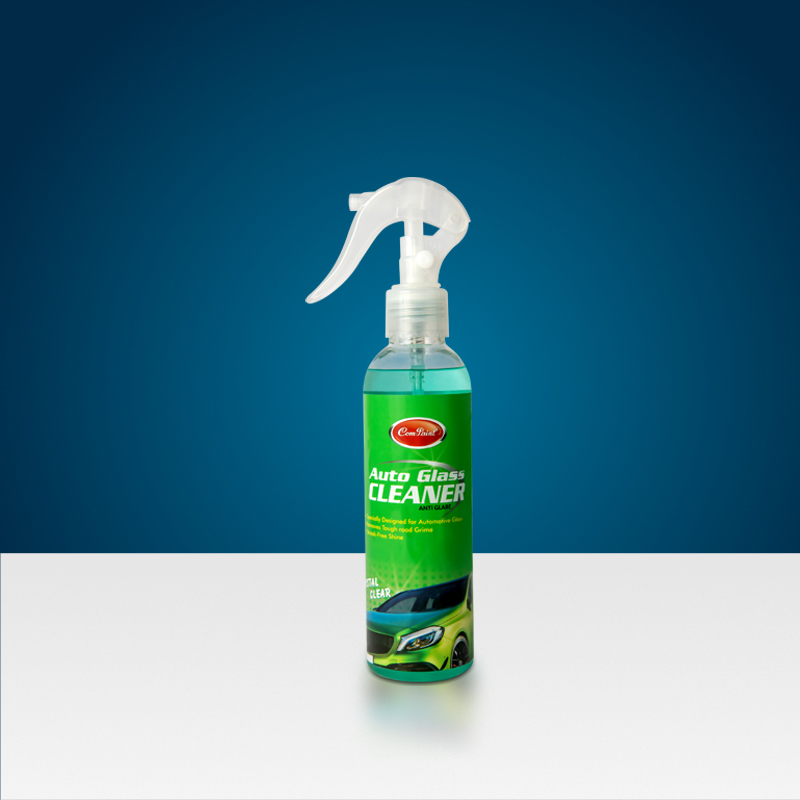 com-paint car glass cleaner