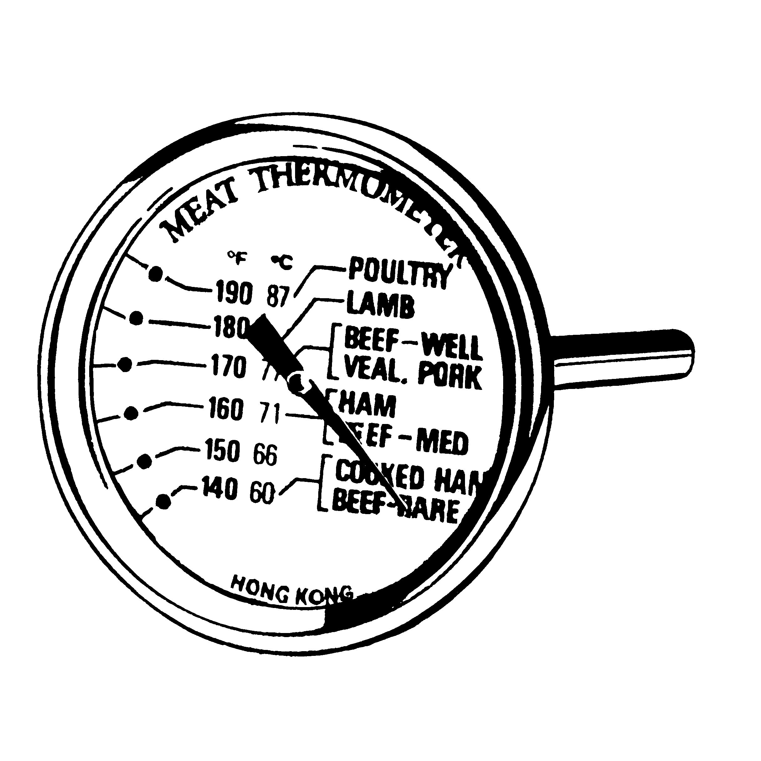 The Emt2k Economy Meat Thermometer From Comark