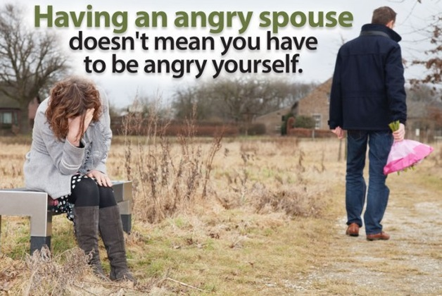 LOVING SAFELY: HOW TO COPE WITH AN ANGRY SPOUSE