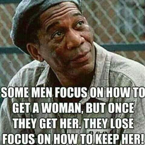 Focus on how to keep her