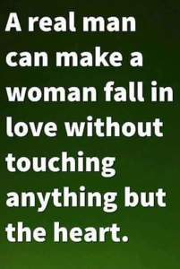 Touch her heart