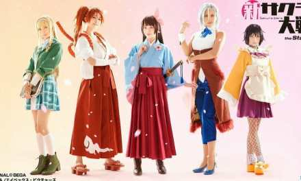 Azami's Costume Previewed in Sakura Wars the Stage Video Greeting