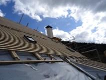Réfection du toit: pan nord