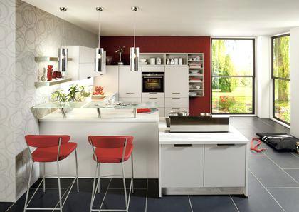 Restez avec vos amis pendant que vous cuisinez en optant pour l'aménagement d'une cuisine ouverte dans votre pièce de vie. Photo cuisine semi ouverte salon - Tout sur la cuisine et ...