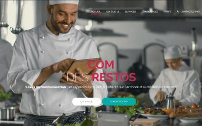 La communication digitale dédiée aux restaurants avec Com des Restos