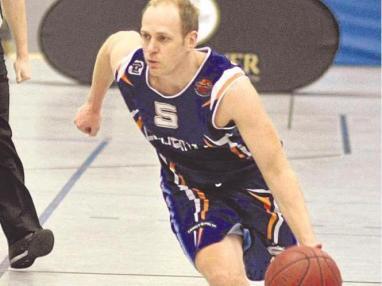 Mit den Baskets Lüdenscheid auch gegen Paderborns Reserve chancenlos: Aufbauspieler Witali Herrmann.