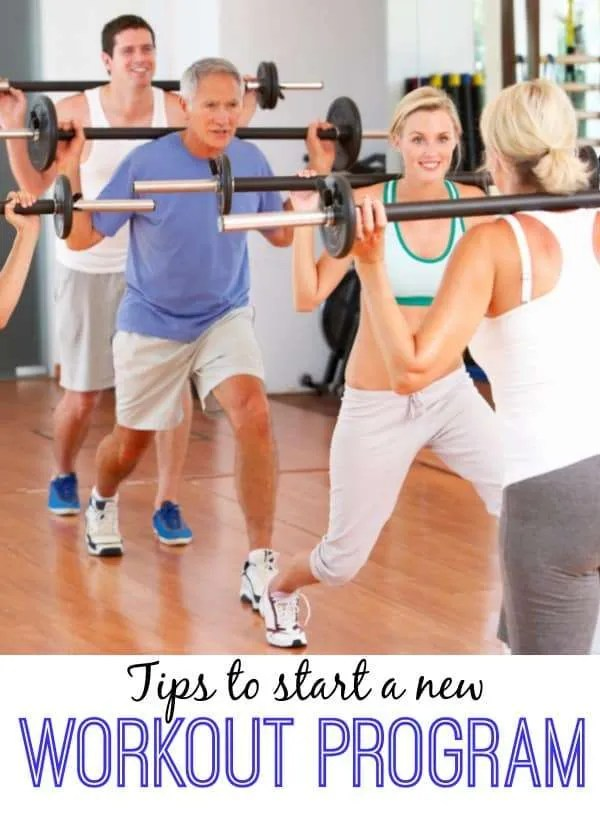 Tips To Be Successful With A New Workout Program