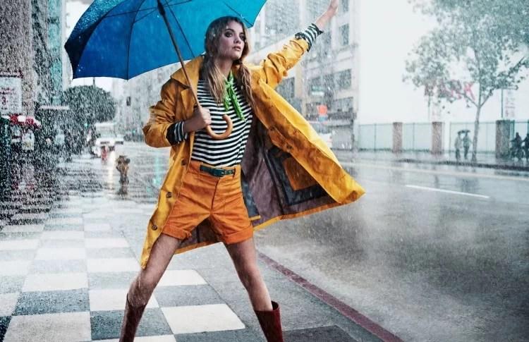 outfit per la pioggia comecosaquando