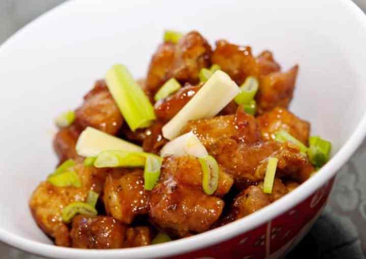 costillas de cerdo con salsa BBQ asiatica