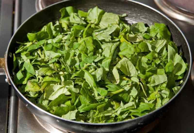 рецепт шпината
