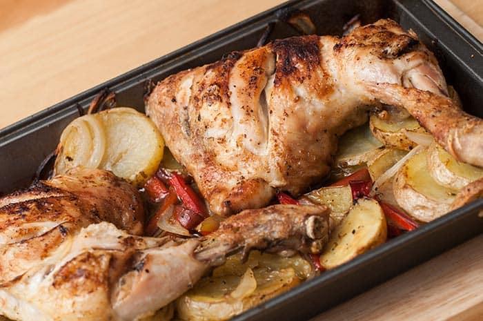 recetas de muslos de pollo