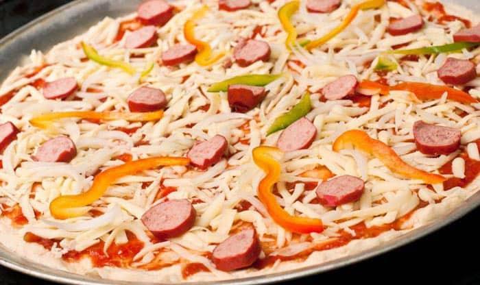 Para pizza casera masa