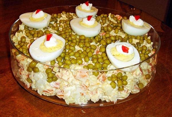 ensalada gallina