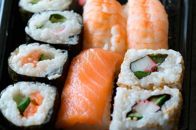 receta de arroz para sushi