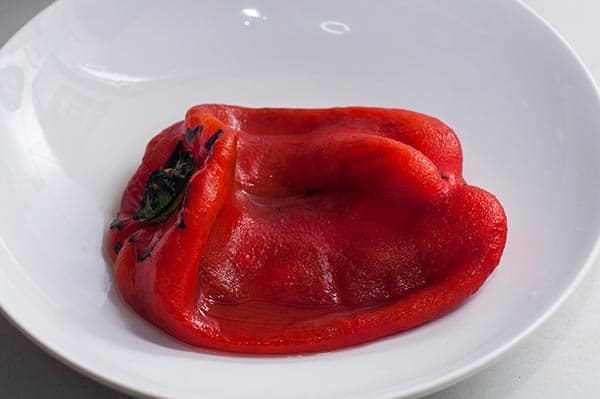 фаршированный красный перец