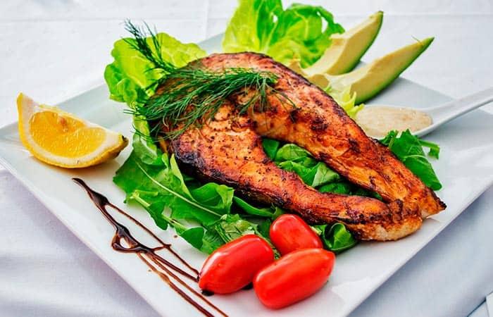 como hacer salmon al horno con limon