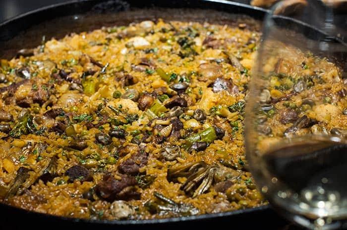 arroz con costilla