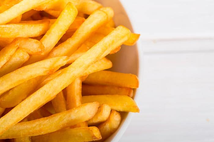receta patatas fritas