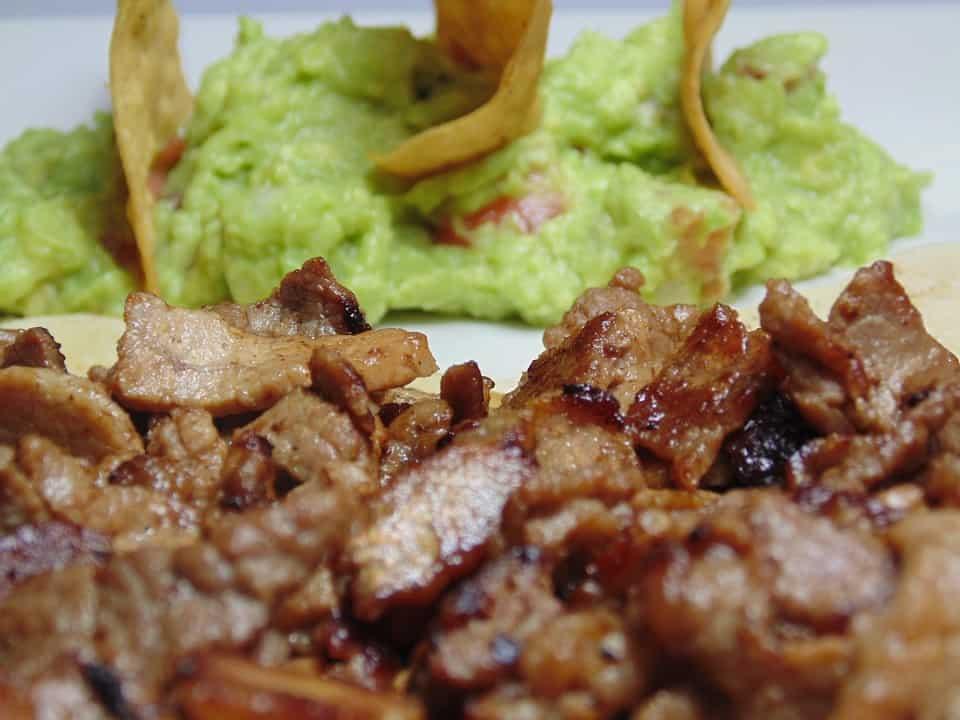 plato de carnitas mexicanas
