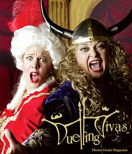 Book or Hire Duelling Divas Opera with a Twist! comedy