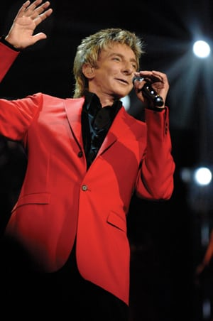 Book or Hire pop musician Barry Manilow