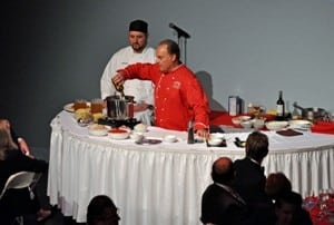 Book or hire celebrity singing chef Andy LoRusso