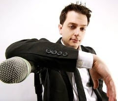 Book or Hire standup comedian Jay Malone