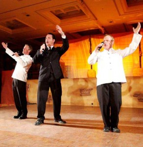 Book or hire singing opera singers -The Three Waiters