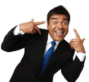 Book or hire standup comedy George Lopez