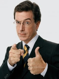 Book or hire stand up comedian Stephen Colbert