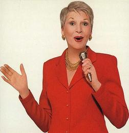 Book or hire humorist speaker Jeanne Robertson